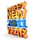 Free New Year 2011 (Hi-Res) Royalty Free Stock Photos - 16020898