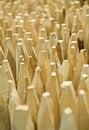 Free Sharpened Wooden Stacks Stock Photos - 16021513