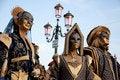 Free Venetian Carnival Masks Stock Image - 16021771