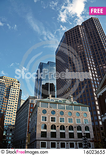 Free Office Buildings Royalty Free Stock Photo - 16023655