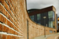 Wall Made From Bricks Stock Image