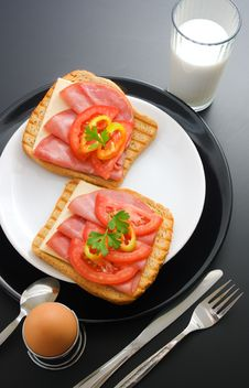 Free Breakfast Stock Photography - 16021282
