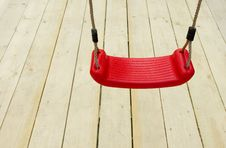 Free Red Children S Swing Royalty Free Stock Photography - 16021607