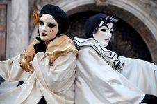 Free Venetian Carnival Masks Royalty Free Stock Image - 16021786
