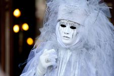 Free Venetian Carnival Mask Royalty Free Stock Photography - 16021817