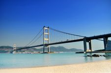Free Cross-sea Bridge Stock Photography - 16022482