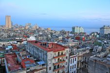 Free Havana´s Roofs And Houses Stock Photos - 16022653