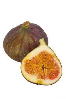 One And A Half Figs Stock Photos