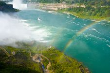 Free Rainbow Over Niagara Falls Royalty Free Stock Image - 16023136