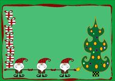 Free Santa Claus Decorating A Christmas Tree Stock Photography - 16023562
