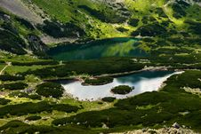 Free Lakes In Mountains Royalty Free Stock Image - 16023616