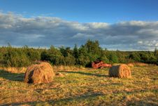 Free Hay Bales Stock Images - 16023904