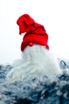 A Toy Santa Claus Royalty Free Stock Photo