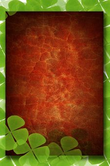 Free Green Plant Frame Stock Images - 16025094