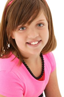 Beautiful 10 Year Old Girl Stock Images