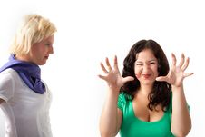 Free Two Women Royalty Free Stock Photo - 16026745