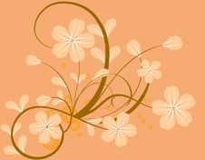 Free Floral Background Royalty Free Stock Photo - 16028425