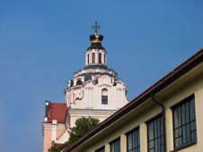 St. Casimir S Cathedral In Vilnius Royalty Free Stock Image