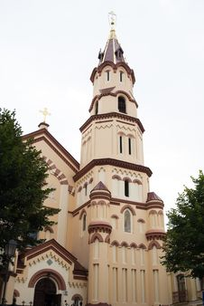 Free St. Nicholas Orthodox Church In Vilnius Stock Photography - 16028582