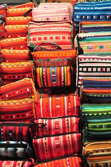 Free Hill Tribe Bags Stock Image - 16028931