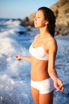 Free Meditation. Stock Image - 16029931