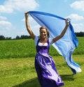 Free Bavarian Woman Stock Photo - 16032010
