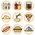 Free Food Icons Stock Photo - 16034760