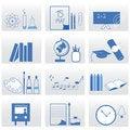 Free Education Icons Stock Photos - 16034803