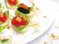 Free Caviar Sandwiches Royalty Free Stock Photos - 16035578