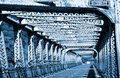 Free Old Metal Bridge Royalty Free Stock Images - 16038799