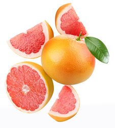 Grapefruit. Stock Image