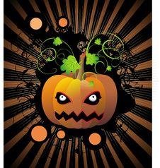 Free Halloween Pumpkin Royalty Free Stock Images - 16030689