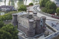 Free Castle Of Naples Miniature Stock Photography - 16030722