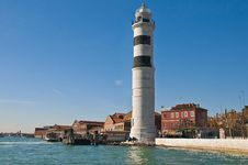 Free Lighthouse Locatad At Murano Island, Italy Stock Photography - 16031172