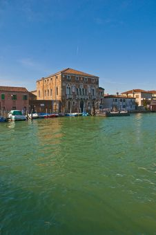Free Mula Palace At Murano Island, Italy Royalty Free Stock Photography - 16031197