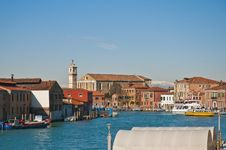 Free Great Channel Of Murano Island, Italy Stock Photography - 16031202