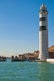 Free Lighthouse Locatad At Murano Island, Italy Royalty Free Stock Photos - 16031208