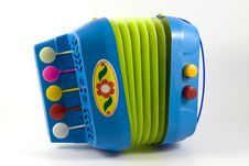 Free Toy Accordion Stock Photography - 16031352