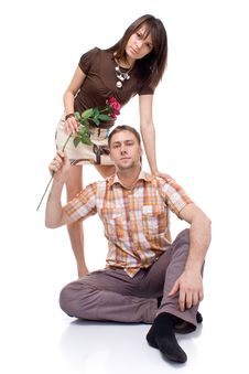Couple Portraits Stock Photos