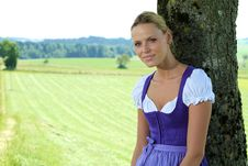 Free Bavarian Girl Royalty Free Stock Photography - 16031587