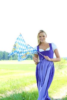Free Bavarian Woman Stock Image - 16031711