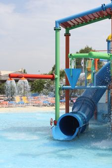 Free Water Slides Stock Images - 16031964