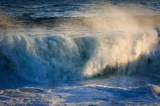Free Powerful Surging Storm Swell. Stock Images - 16031994