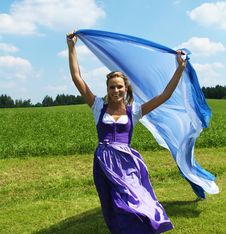 Free Bavarian Woman Stock Photo - 16032010