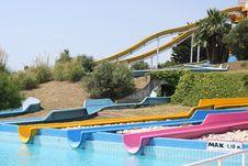 Free Slide In Aquapark Stock Photos - 16032163