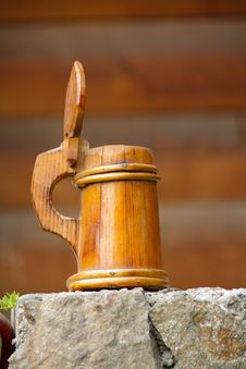 Free Decorative Wood Pint Stock Photo - 16032800