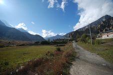 Free Annapurna Landsacpe -  Nepal Royalty Free Stock Photos - 16033568