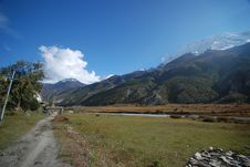 Free View Of Annapurna, Nepal Royalty Free Stock Images - 16033599