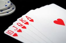 Free Royal Flush 2 Stock Photos - 16033963