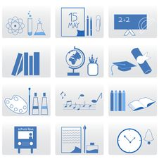 Free Education Icons Stock Photos - 16034803